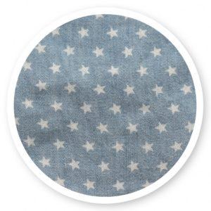 Fehér csillagos (vászon)