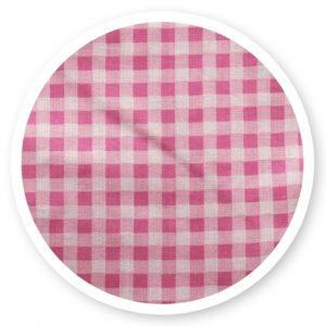 Rózsaszín kockás (vászon)