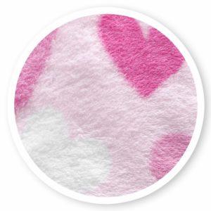 Rózsaszín pink szíves